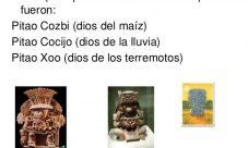 Dioses de la cultura Zapoteca