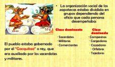 Organización social de la cultura Zapoteca